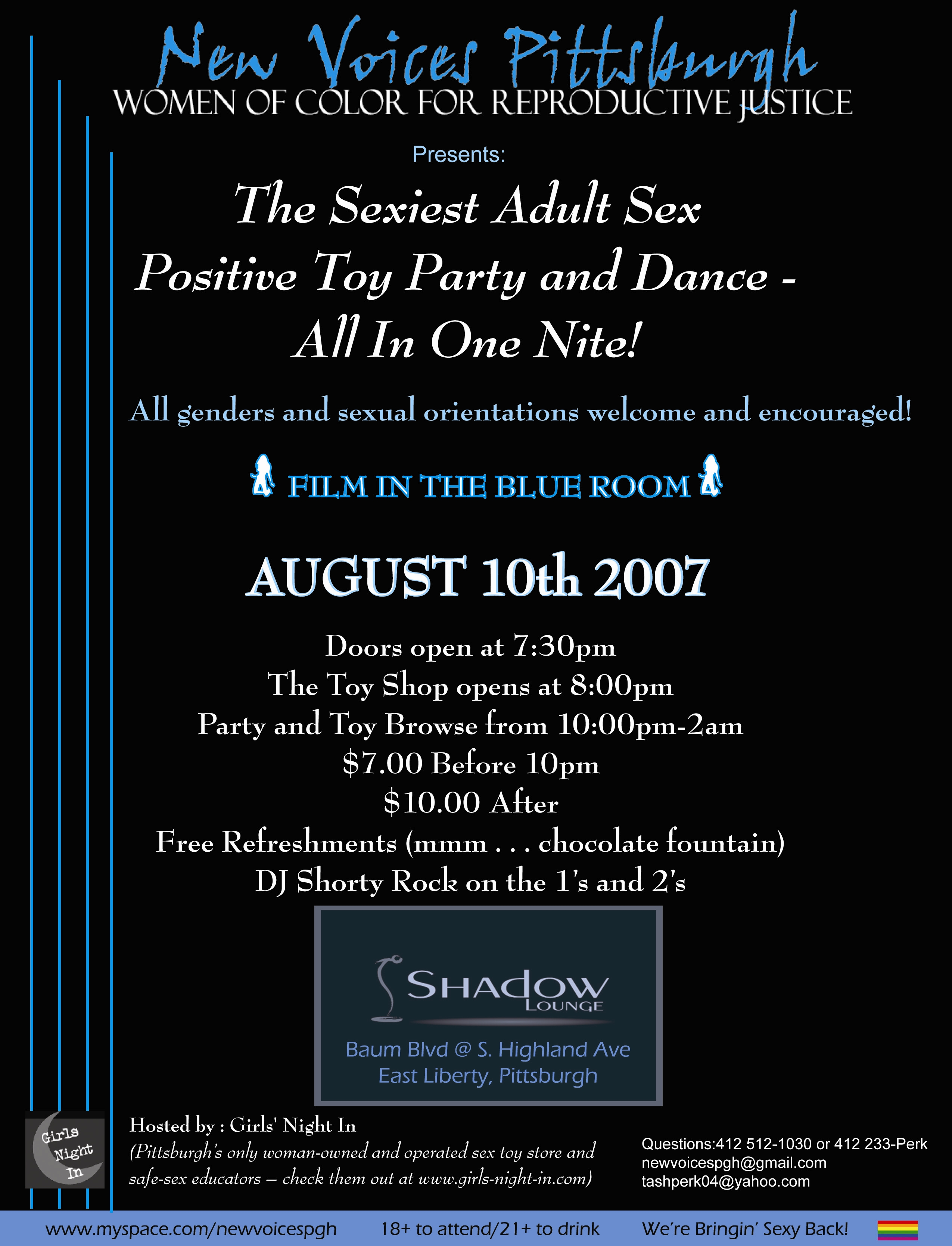 Pittsburgh Sex Party