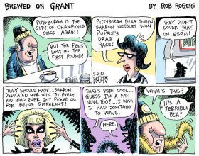 """Rob Rogers """"Brewed on Grant"""" Tribute to Sharon Needles"""
