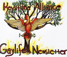 KeystoneAllianceGaylifeNewsletter
