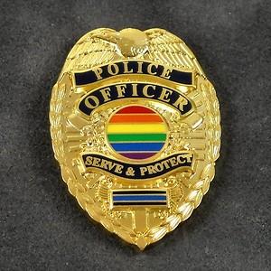 gaypolicebadge