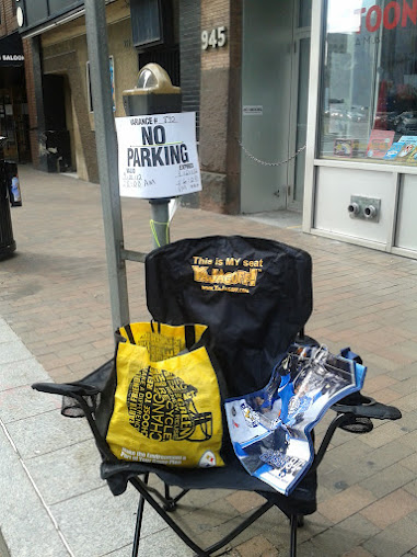 Reserve your parking space with Pittsburgh flair!