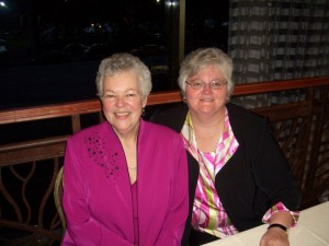Kathi (l) and her partner, Betty (r)