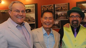 Brad & George Takei support the Toonseum. This event was supported by Gay for Good Pgh