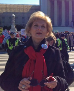 March 2013, at  the Prop 8/DOMA rally on the steps of Supreme Court.