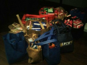 Donations of sister supplies for Pgh area food pantries.