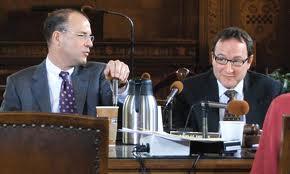 City Councilor Bruce Kraus and fomer Councilor Doug Shields sponsored the Domestic Partner Registry