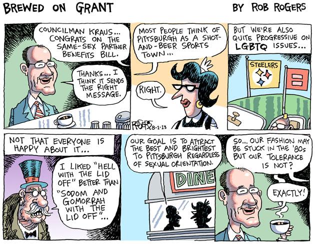 Image: Rob Rogers, Pittsburgh Post-Gazette