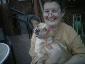 Dog Gay Pride
