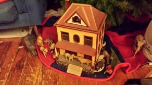 Christmas House putz
