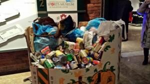 food drive tote bag