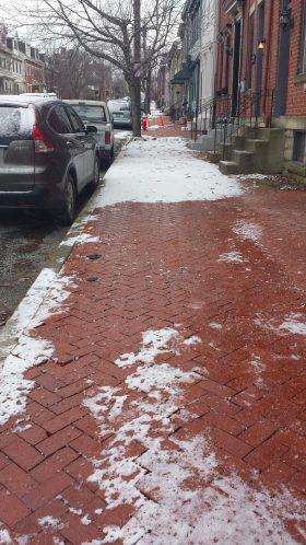 Shovel Neighbor's Walk