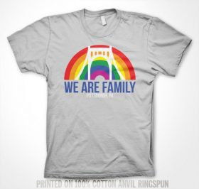 We Are Family Tee Shirt Pittsburgh