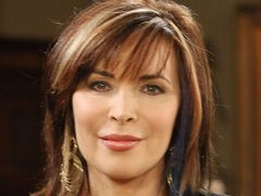 Actor Lauren Koslow is famous for her blue streak and edgy nail polish. At age 61, she says it is fun and a tribute to her punk rock heroes. She stars as Kate Roberts on Days of Our Lives
