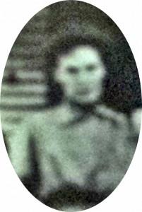 Regina Gallagher Kramer circa 1917