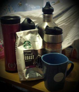 water coffee