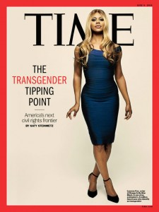 In June, Cox became the first openly transgender person to appear on the cover of Time magazine.