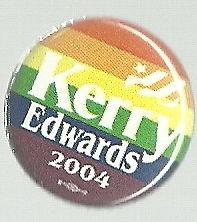 Kerry Edwards Rainbow Button