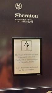 unisex bathroom pittsburgh