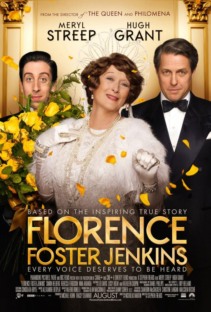 Florence Foster Jenkins giveaway