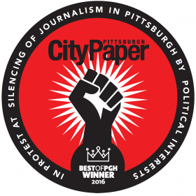 Pittsburgh City Paper Best of PGH Winner 2016