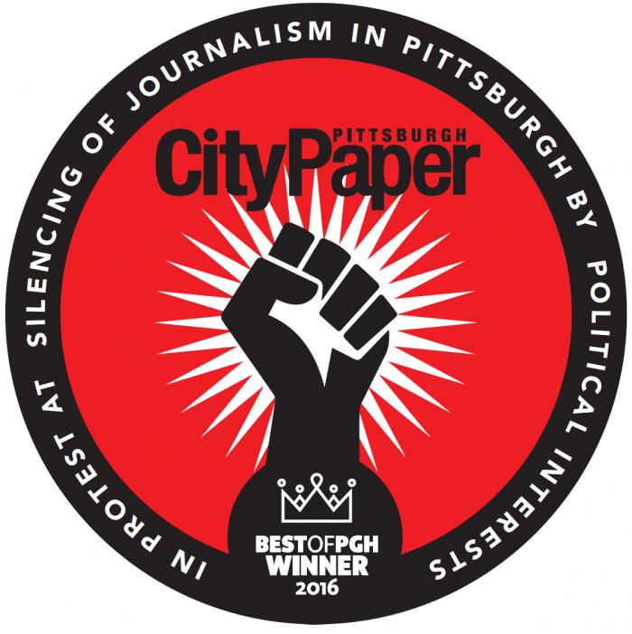 Pittsburgh City Paper Best of PGH Winner 2016