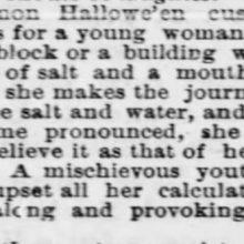 Harrisburg Halloween 1889