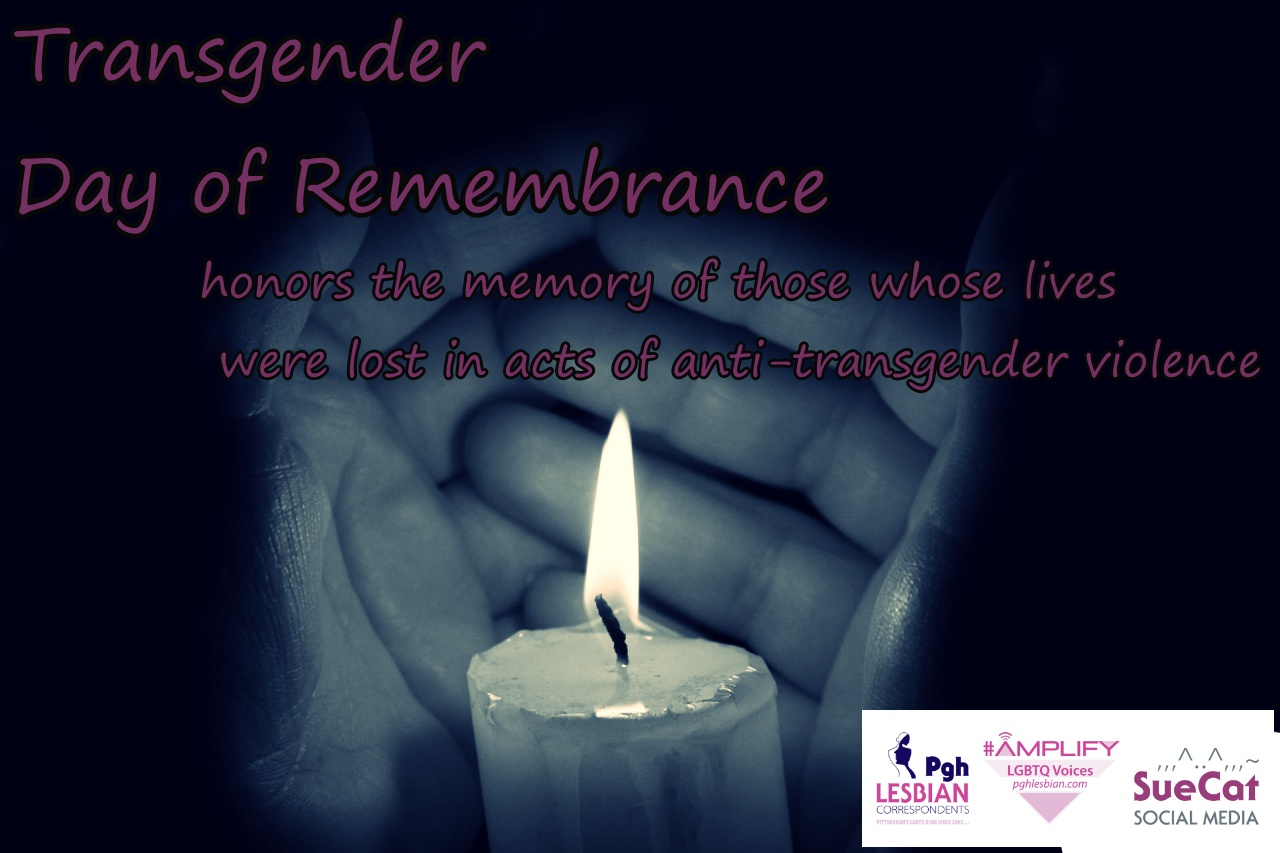 Transgender Day of Remembrance 2018 Pittsburgh