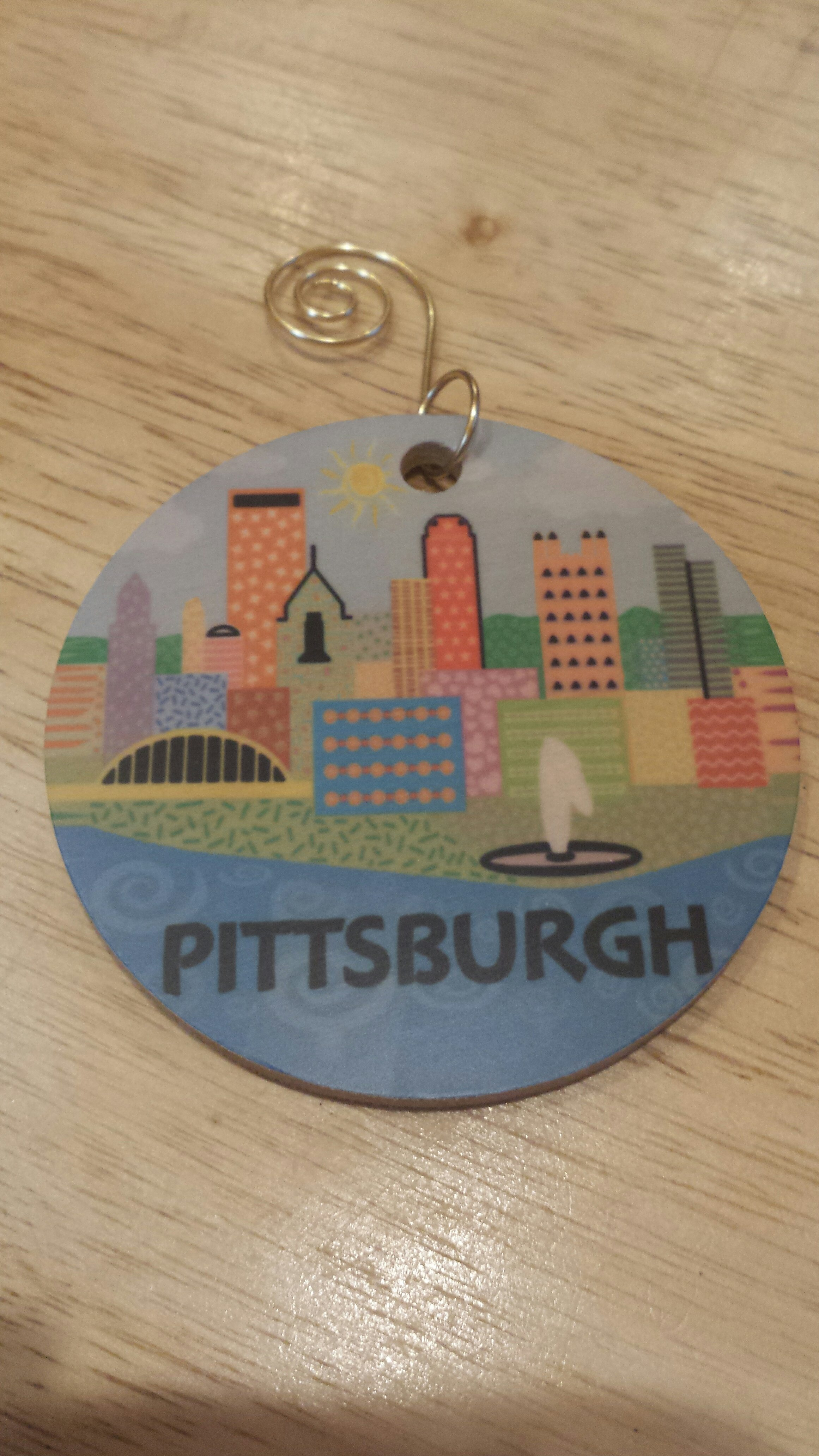 Pittsburgh ornament