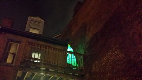 Neon Christmas Tree Pittsburgh
