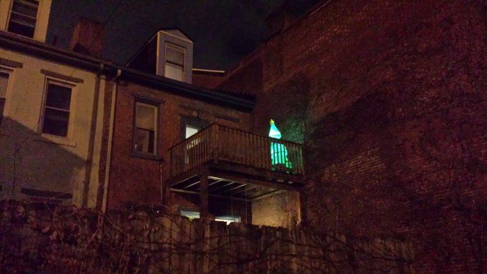 Green Christmas tree Pittsburgh
