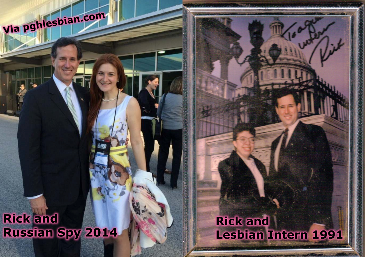 Rick Santorum photo Maria Butina