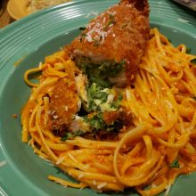 Stuffed Chicken Asiago