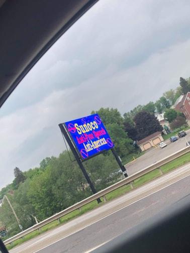 Worthington Armstrong County billboards