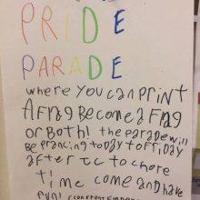Pride Parade Elementary School