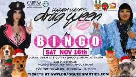 Drag Queen Bingo Pittsburgh November
