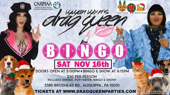Drag Queen Bingo Pittsburgh November