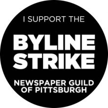 Pittsburgh Post-Gazette Byline Strike