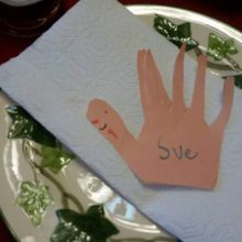 Thanksgiving placesetting