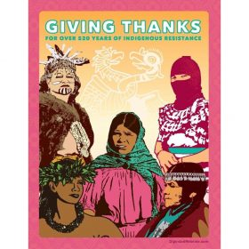 Giving Thanks Indigenous