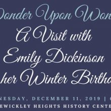 Emily Dickinson Event