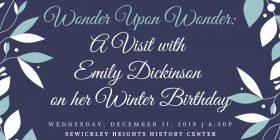 Emily Dickinson Event
