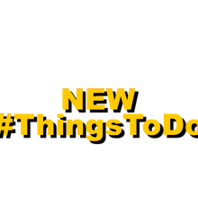 New Things To Do Project