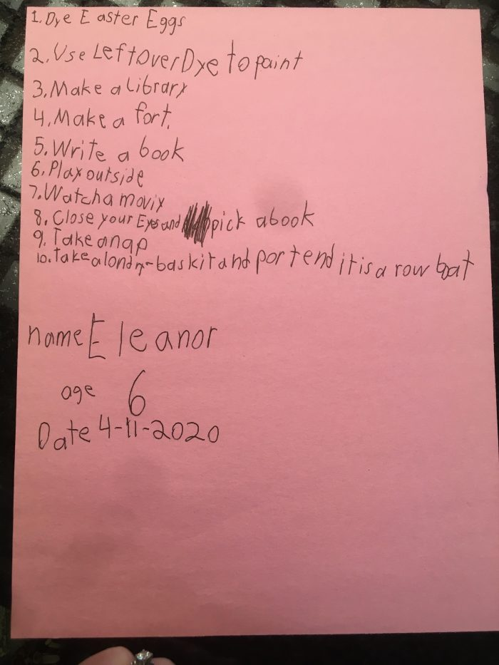 List of Things To Do for Kids