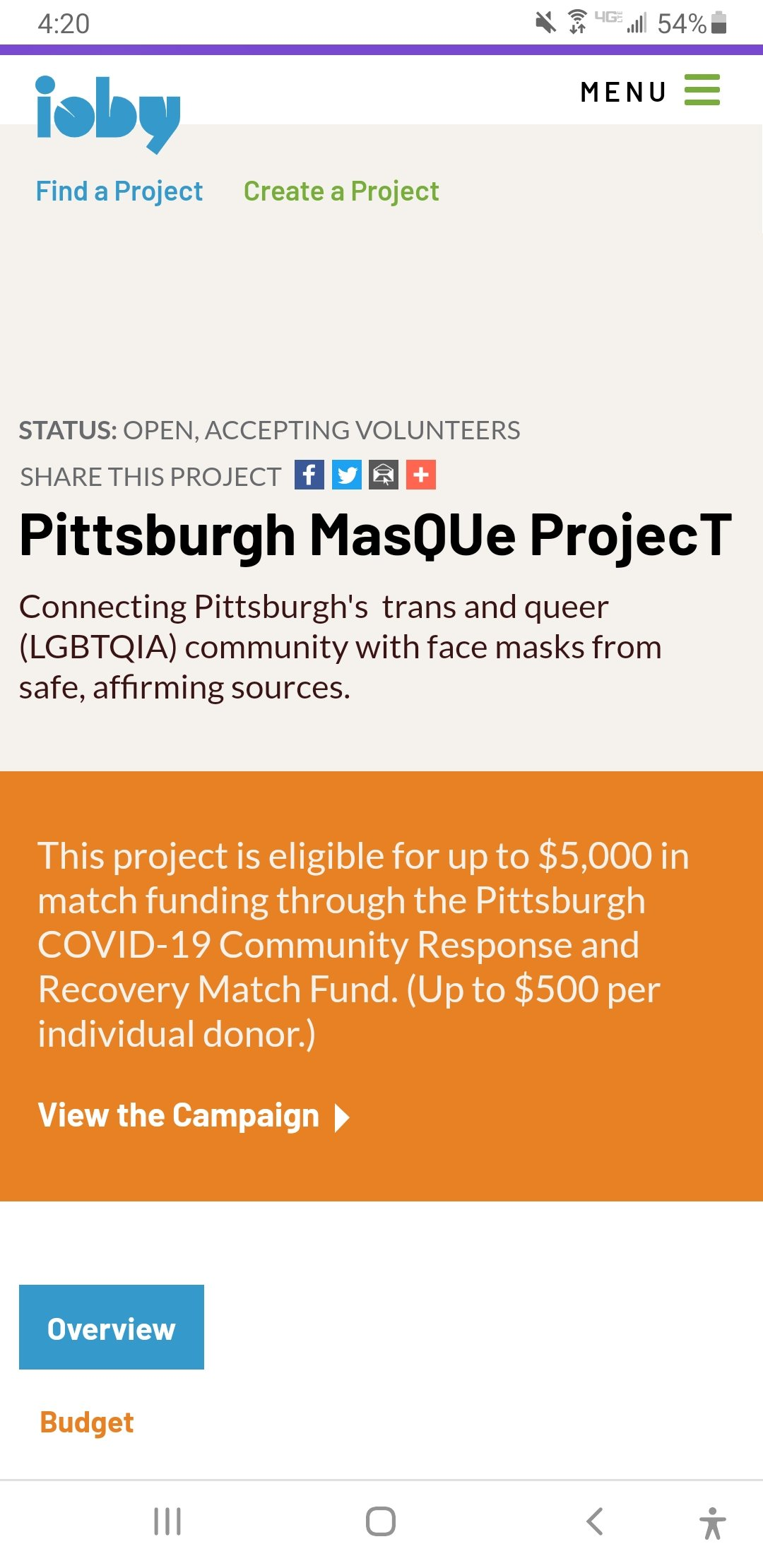 Pittsburgh Face Mask Donations