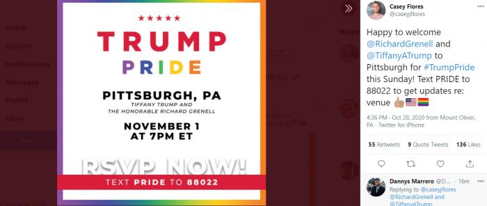 Trump Pride Rally Pittsburgh
