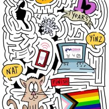 Maze Toons Lesbian