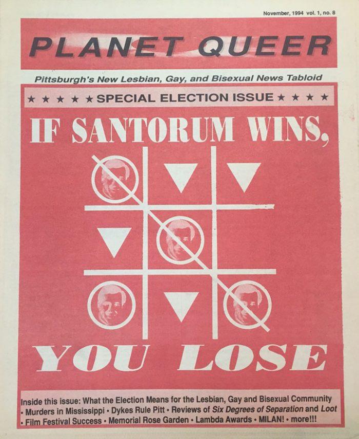 Santorum Gay Community